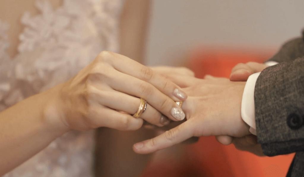 【婚禮必錄】戴戒指