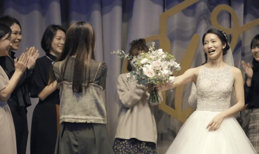 【婚禮必錄】捧花儀式